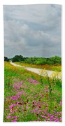 Wildflower Wonderland Beach Towel