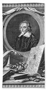 William Harvey (1578-1657) Beach Towel