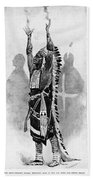 Wounded Knee, 1890 Beach Towel
