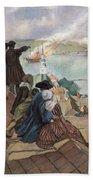 Battle Of Bunker Hill, 1775 Beach Towel