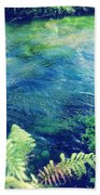 Spring Water Beach Towel