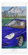 2002 Porsche 996 Beach Towel