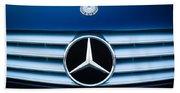 2003 Cl Mercedes Hood Ornament And Emblem Beach Sheet