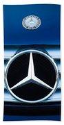 2003 Cl Mercedes Hood Ornament And Emblem Beach Towel