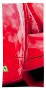2003 Ferrari Enzo Hood Emblem Beach Towel