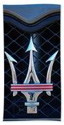 2005 Maserati Gt Coupe Corsa Emblem Beach Sheet