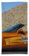 2007 Chevrolet Corvette Indy Pace Car Beach Towel by Jill Reger