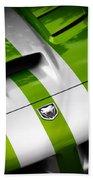 2010 Dodge Viper Srt10 Beach Towel