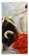2010 Toro Acrylics 02 Beach Towel