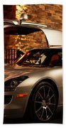 2011 Mercedes-benz Sls Amg Gullwing Beach Towel