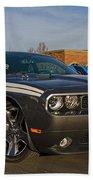 2012 Dodge Challenger R/t Classic Beach Towel