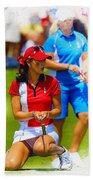 2013 Solheim Cup - Michelle Wie Beach Towel