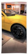 2014 Camaro Convertible Beach Towel