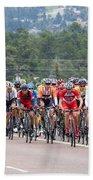 2014 Usa Pro Cycling Challenge Beach Towel