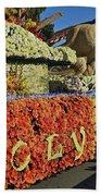 2015 Cal Poly Rose Parade Float 15rp052 Beach Towel