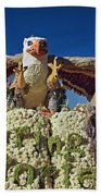 2015 Cal Poly Rose Parade Float 15rp055 Beach Towel