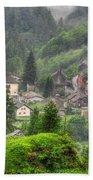 Alpine Village Beach Towel