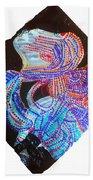 Dinka Lady - South Sudan Beach Towel by Gloria Ssali
