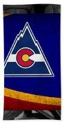 Colorado Rockies Beach Towel