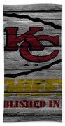 Kansas City Chiefs Beach Towel