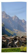 Alpine Village Beach Towel
