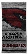 Arizona Cardinals Beach Towel