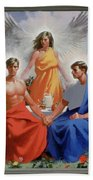 24. The Trinity / From The Passion Of Christ - A Gay Vision Beach Towel