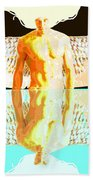 24x36 Reflective Angel Bb Beach Towel