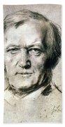 Richard Wagner (1813-1883) Beach Towel