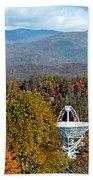26 East And The Blueridge Panoramic Beach Towel