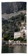 Views From The Amalfi Coast In Italy Beach Towel
