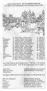 Declaration Of Independence Beach Sheet
