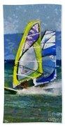 Windsurfing Beach Towel