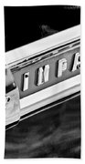 1959 Chevrolet Impala Emblem Beach Towel