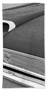 1960 Ford Galaxie Starliner Taillight Emblem Beach Towel by Jill Reger