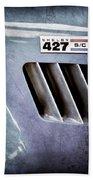 1965 Shelby Cobra 427 Emblem Beach Towel