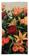 A Gallery's Flowers Beach Towel