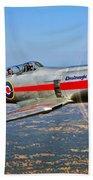 A Hawker Sea Fury T.mk.20 Dreadnought Beach Towel