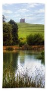 Abbotsbury Beach Towel by Joana Kruse