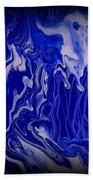 Abstract 87 Beach Towel by J D Owen