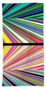 Abstract Fusion 221 Beach Towel