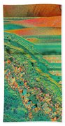 Agate Microworlds 2 Beach Towel