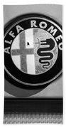 Alfa Romeo Emblem Beach Towel