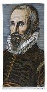 Ambroise Pare (1517?-1590) Beach Towel