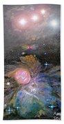 Aphrodite In Orion's Nebula Beach Towel