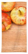 Apples Beach Towel