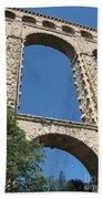 Aqueduct Roquefavour Beach Towel