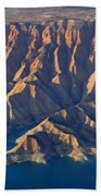 Bad Lands Beach Towel