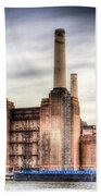Battersea Power Station London Beach Towel