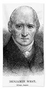 Benjamin West (1738-1820) Beach Towel